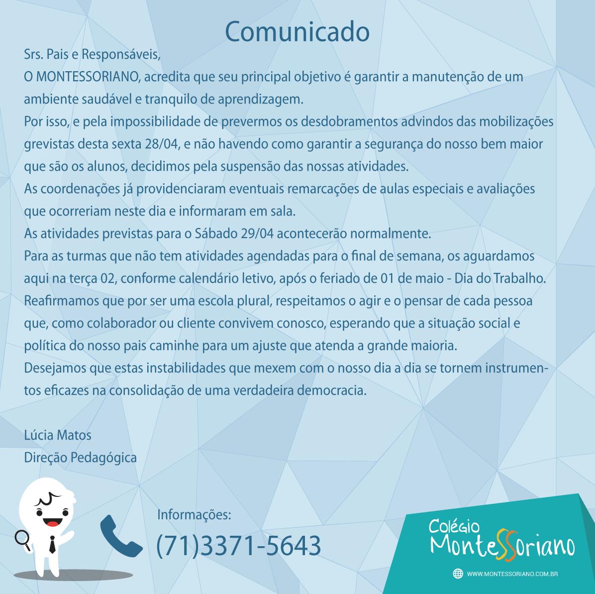 COMUNICADO1111111111